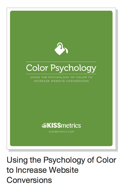 Color Pyschology Marketing Guide CTA