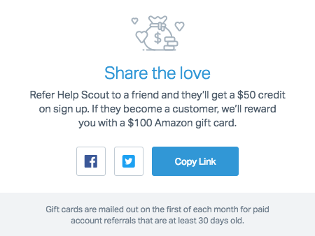 Help Scout referral program