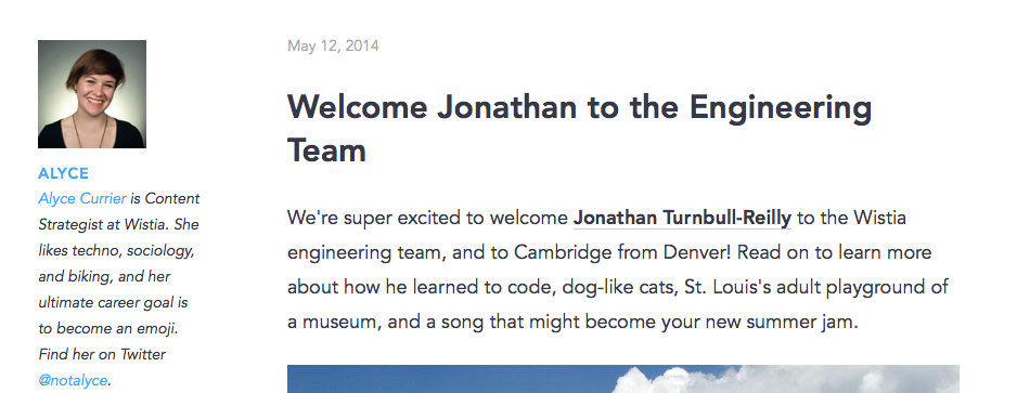 Welcome Jonathan to the Engineering Team 2014-05-15 13-41-02